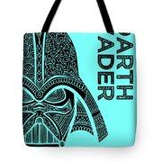 Darth Vader - Star Wars Art - Blue Tote Bag