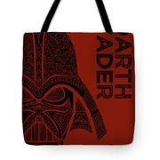 Darth Vader - Star Wars Art  Tote Bag