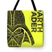 Darth Vader - Star Wars Art - Yellow Tote Bag