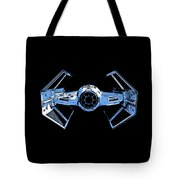 Darth Vaders Tie Figher Advanced X1 Tee Tote Bag