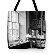 Darwins Study And Microscope, Down House Tote Bag