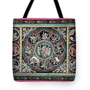 Dashavtar B/w 5 Tote Bag