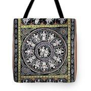 Dashavtar B/w 6 Tote Bag