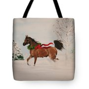 Dashing Thru The Snow Tote Bag