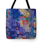 Dashpotted Dilemma Tote Bag