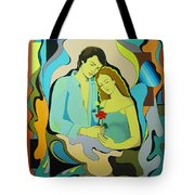 Date From The Past Tote Bag