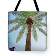Date Palm In The City Tote Bag