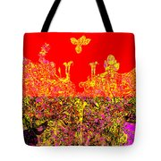 Datura Bird Tote Bag by Eikoni Images