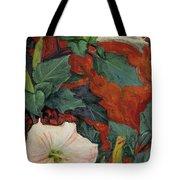 Datura Flower Tote Bag