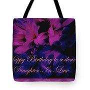 Daughter-in-law Birthday Card        Chrysanthemum Tote Bag
