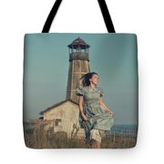 Daughter Of The Lighthouse Keeper Tote Bag