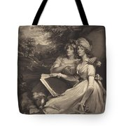 Daughters Of Sir Thomas Frankland Bart (the Sisters) Tote Bag