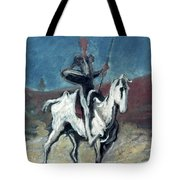 Daumier: Quixote, 19th C Tote Bag