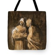 Daumier: Virgin & Child Tote Bag