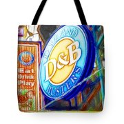 Dave And Buster's Tote Bag