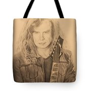 Dave Mustaine Tote Bag