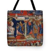 David And Saul Tote Bag
