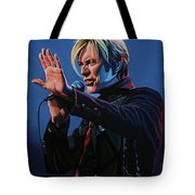 David Bowie Live Painting Tote Bag