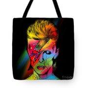 David Bowie Tote Bag by Mark Ashkenazi
