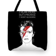 David Bowie Quote Tote Bag