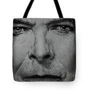 David Bowie - Eyes Of The Starman Tote Bag