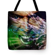 David Bowie The Legend Tote Bag
