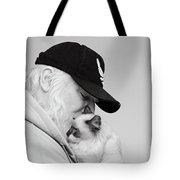 David Bw Tote Bag by Irina ArchAngelSkaya