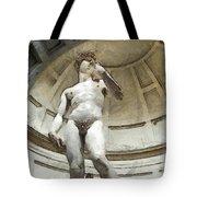 David By Michelangelo Pencil Tote Bag