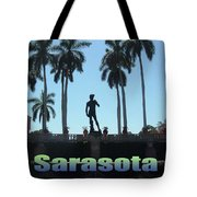David In Sarasota Tote Bag