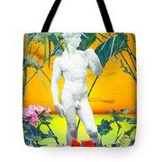 David Tote Bag by Kurt Van Wagner