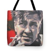 David Lynch Tote Bag by Luis Ludzska