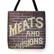 David Mann - Meats And Provisions Tote Bag
