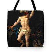 David Victorious Tote Bag