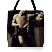 David With The Head Of Goliath 1606 Tote Bag