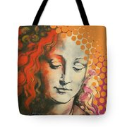 Davinci's Head Tote Bag