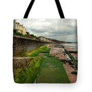 Dawlish Sea Wall Tote Bag