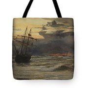 Dawn After The Storm Tote Bag