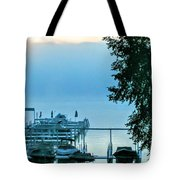 Dawn At Bay Colony Tote Bag