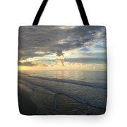 Dawn At Folly Beach Tote Bag