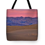 Dawn At Mesquite Flat #3 - Death Valley Tote Bag