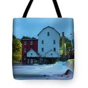 Dawn At Phelps Mill Tote Bag