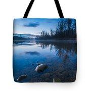 Dawn At River Tote Bag
