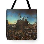 Dawn At The Alamo Tote Bag