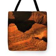 Dawn At The Grand Canyon Tote Bag