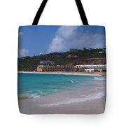 Dawn Beach Tote Bag