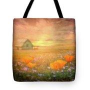 Dawn Blessings On The Farm Tote Bag