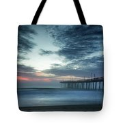 Dawn Breaking Through Tote Bag