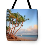 Dawn In Punta Cana Tote Bag