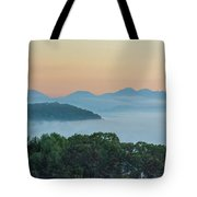 Dawn In The Smokies Tote Bag