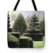 Dawn In A Topiary Garden   Tote Bag